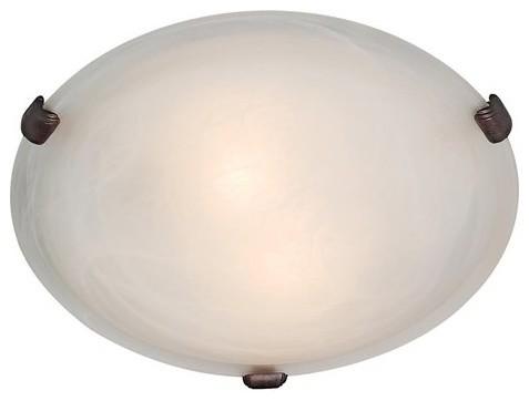 Access Lighting 23019 Mona 2 Light Flush Mount Ceiling Fixture modern-ceiling-lighting