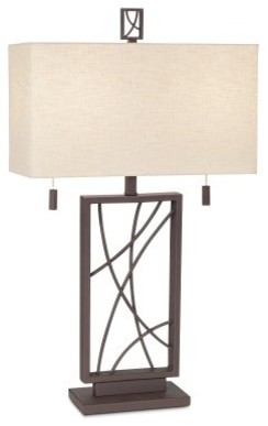 Pacific Coast Lighting Crossroads Table Lamp modern-table-lamps