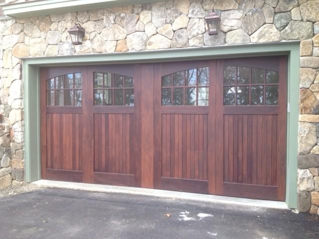 Carriage House Doors - Traditional - Garage Doors And Openers - boston - by Vintage Custom Doors