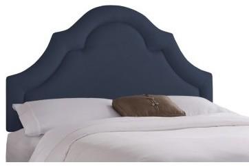 Arch Border Upholstered Headboard modern-beds