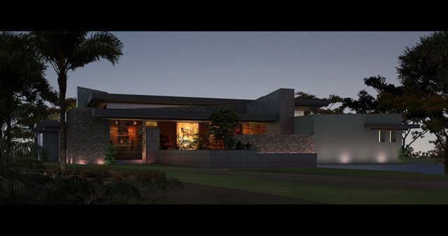 Callahan Road Project contemporary rendering