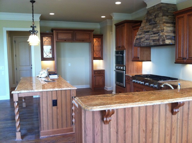 Sonoma custom home traditional kitchen cabinets