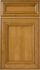 Madrid Flat Panel Cherry Cabinets contemporary-kitchen-cabinetry