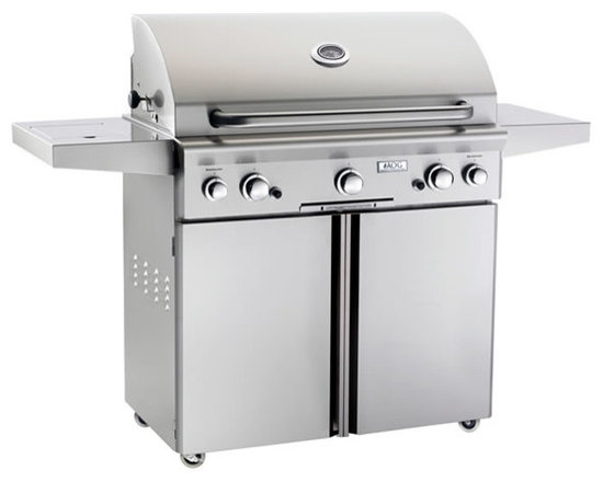 """36"""" Portable American Outdoor Grill - AOG 36 Inch Outdoor Portable Gas Grill"""