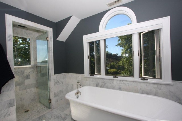 Waterfront Bathroom traditional-bathroom