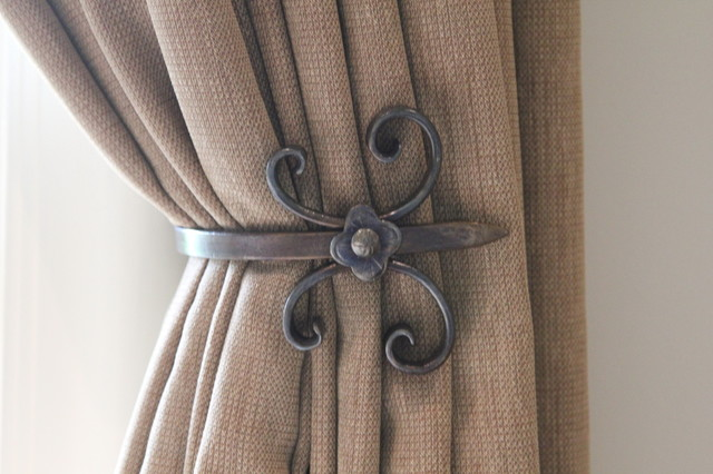 Custom Holdbacks - Traditional - Curtain Rods - toronto - by Chantale ...