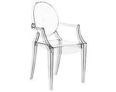Starck Louis Ghost Chair in Clear contemporary-accent-chairs