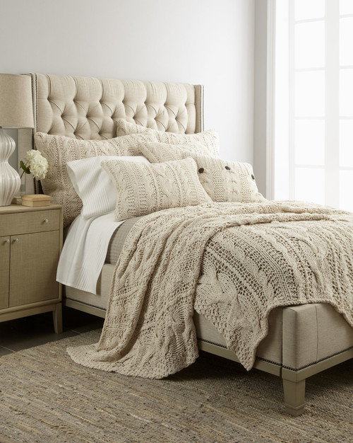 Do You Still Have The Ivory Chunky Knit King Size Bed Spread