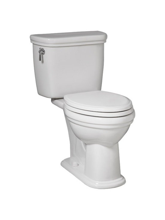 Calla II Two-Piece Elongated Toilet - PowerWash® rim scrubs bowl with each flush