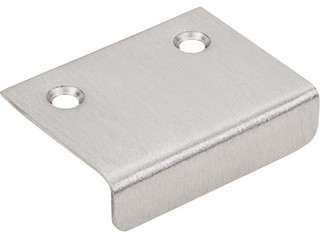 """Tab Pull 2"""" - Brushed Satin Nickel - Modern - Cabinet And Drawer Handle Pulls - by Knobs and Beyond"""