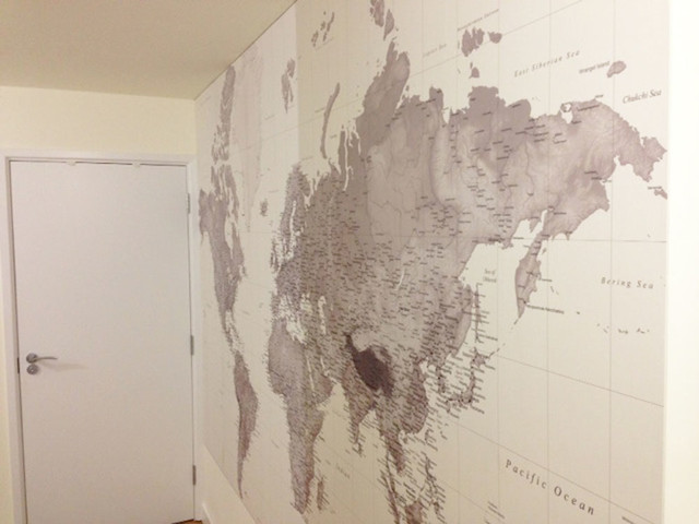 World map wallpaper buy removable wall mural online world map awesome black and white world map wallpaper u free wallpaper download with world map wallpaper gumiabroncs Images