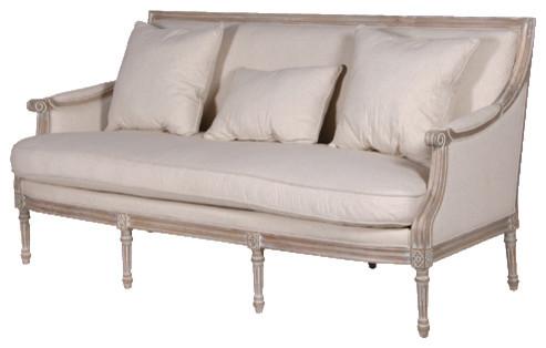 Parisian 3-seater Sofa traditional-sofas