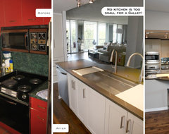 Designing your kitchen how to choose a sink size for The galley sink price