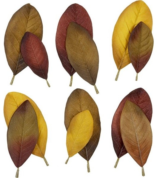 Magnolia Scatter Leaves contemporary-holiday-decorations