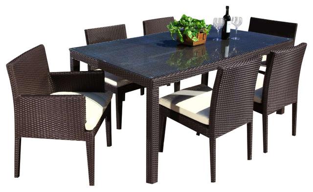 Contemporary Outdoor Dining Set 14