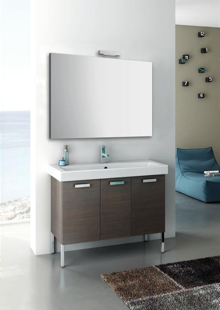 Three Door Complete Vanity Set contemporary-bathroom-vanities-and-sink-consoles
