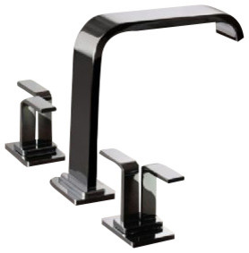 Graff Roman Tub Set with Handshower Included - G-2352-C9-SN contemporary-bathroom-faucets-and-showerheads