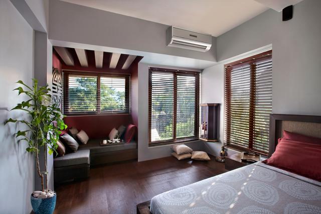 Bathija Residence asian-bedroom