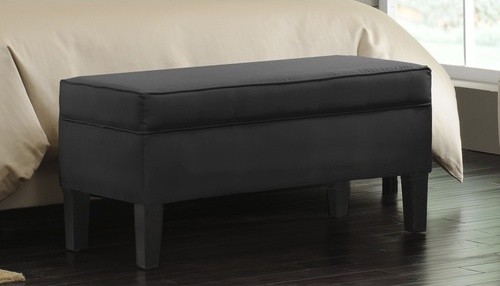 bedroom storage ottoman modern footstools and ottomans by
