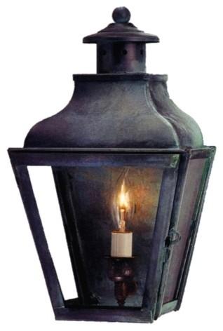 Portland Wall Sconce - Brass Copper Lantern Home Lighting - Lanternland.com wall-lighting
