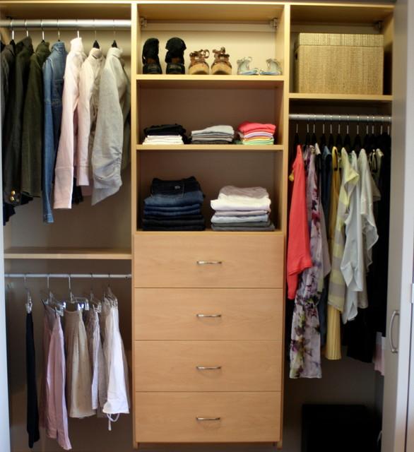 Organized Spaces closet