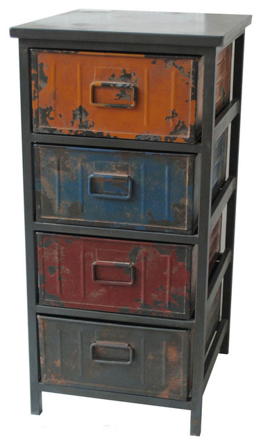 Paintbox Cabinet Small - Modern - Storage Cabinets - by Modern Furniture Warehouse
