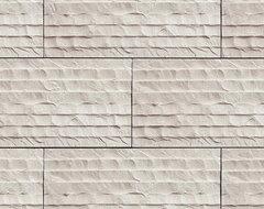 Coronado Chiseled Limestone Tile - Color: Cream - Stone Veneer Tile modern