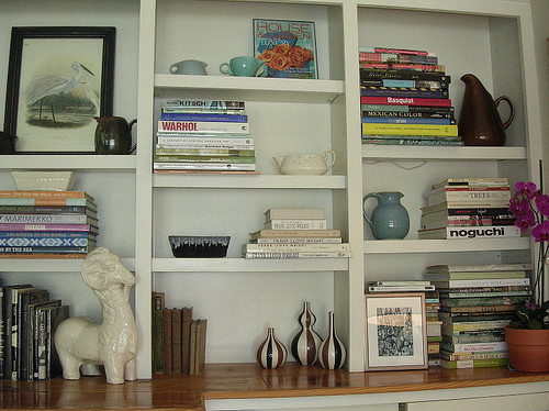 Becky's Living Room Shelves I