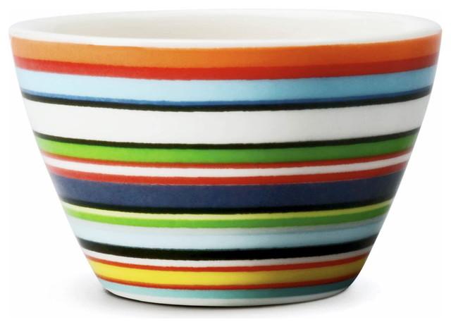 Origo Serving Bowl, Orange contemporary-serving-bowls