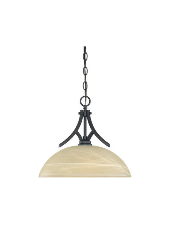 Designers Fountain - Designers Fountain 82932 1 Light Hanging Down Light Bowl Pendant from the Tackwo - Features: