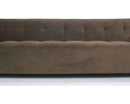 Lakewood Sofa - Our sleek Lakewood sofa is a tribute to contemporary modern design. With its low, deep seat, kiln dried hardwood frame, and heavy gauge spring suspension, this sofa is destined to become a classic. This sofa is made to order in the USA and can be delivered to you home in 6 - 8 weeks.
