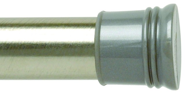 """Zenith 505ST 72"""" Tension Rod in Brushed Nickel traditional-showerheads-and-body-sprays"""
