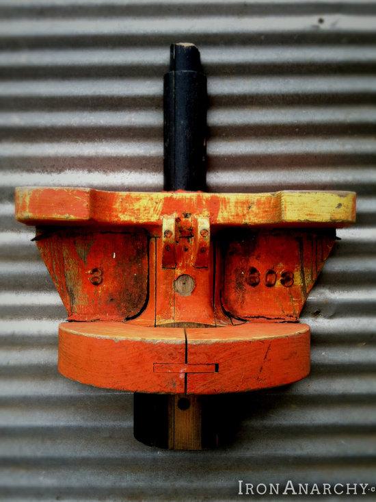Antique Industrial Gear Decor -