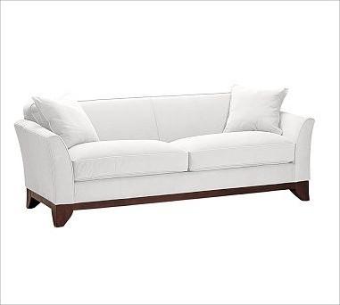 Greenwich Upholstered Sofa Down Blend Wrap Cushions