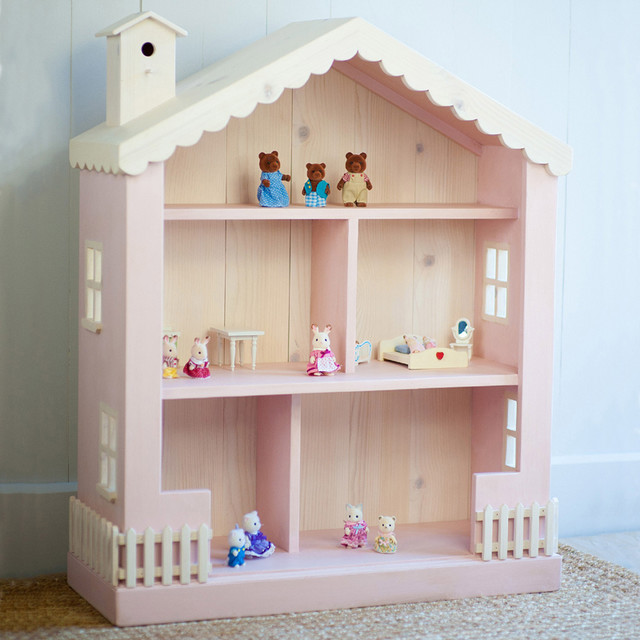 Cottage Dollhouse Bookcase - Modern - Kids Toys And Games - by ...