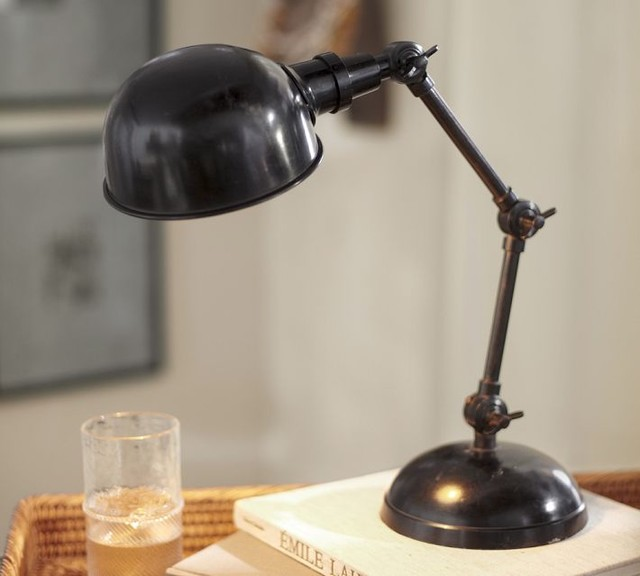 Harrison Bedside Lamp Traditional Table Lamps By