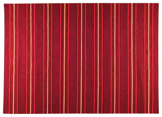 Savannah Red Rug modern-rugs