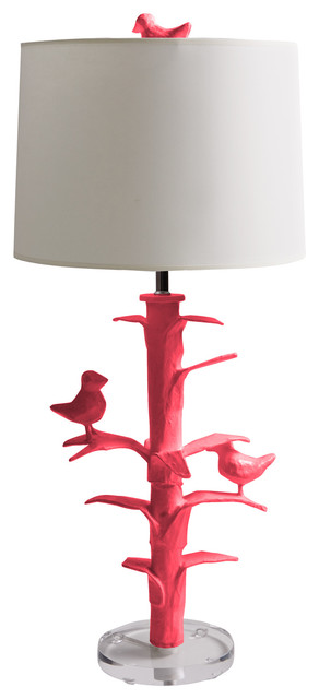 Sarah Bird-Inspired Lamp eclectic table lamps