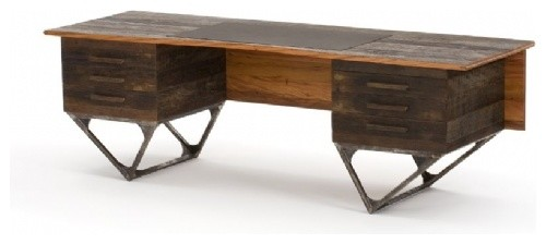 Horizonte Desk by Carlos Motta eclectic-desks-and-hutches
