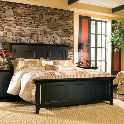 Sterling Pointe Panel Bed contemporary-beds