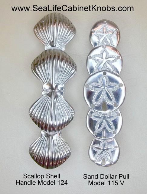 Seashell Cabinet Handles