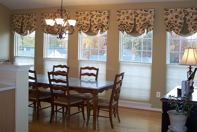 Window Treatments traditional-curtains