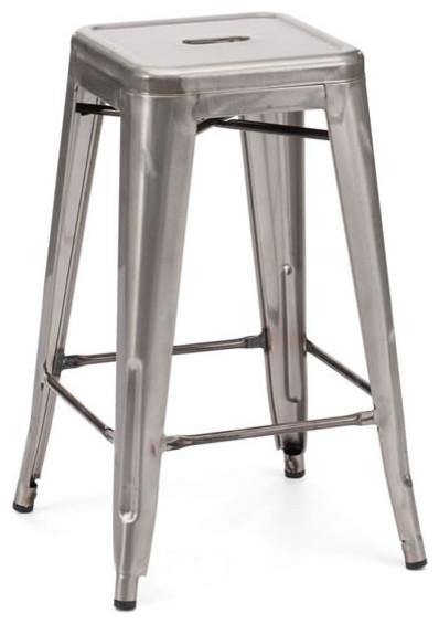 Marius Counter Stool, Gunmetal modern-bar-stools-and-counter-stools