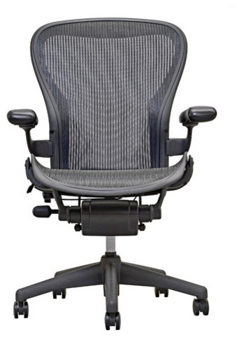 Aeron  Basic Chair With Graphite Base modern-home-office-accessories
