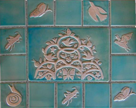 Decorative Tiles & Backsplashes eclectic