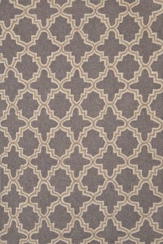 Hooked Plain Tin Rug modern-rugs
