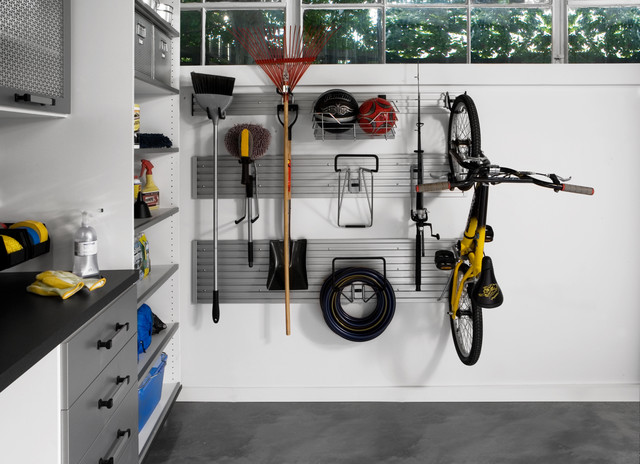 Garage Wall Track - Modern - Garage And Shed - other metro - by transFORM | The Art of Custom ...