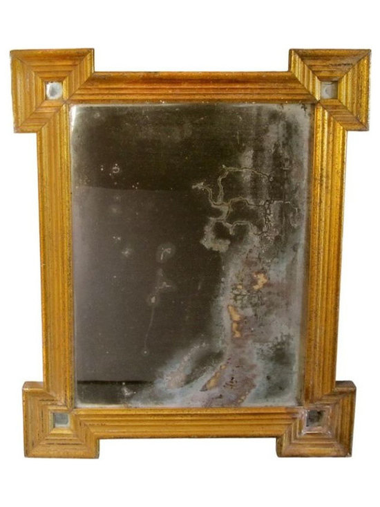 French Gilded Mirror with Original Glass - $1,200 Est. Retail - $850 on Chairish -