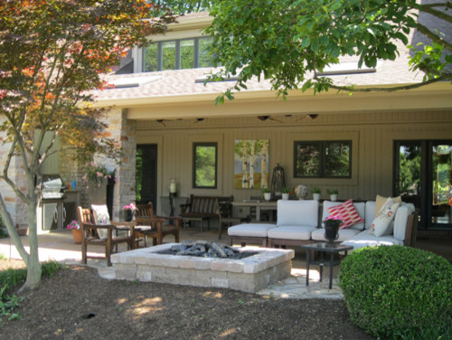 outdoor living room - Porch - st louis - by Heartlands Building ...