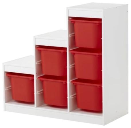 TROFAST Storage combination modern-toy-organizers
